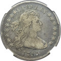 Early Dollars, 1795 $1 Draped Bust, Off Center Fine 12 NGC. B-14, BB-51, R.2....