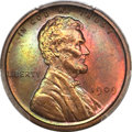 Proof Lincoln Cents, 1909 1C PR66 Red and Brown PCGS. CAC....