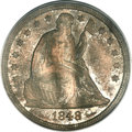 Seated Dollars, 1848 $1 MS63 PCGS....