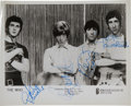 Music Memorabilia:Autographs and Signed Items, The Who Autographed Publicity Photo....