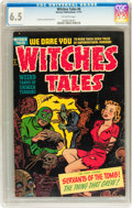Golden Age (1938-1955):Horror, Witches Tales #6 (Harvey, 1951) CGC FN+ 6.5 Off-white pages....