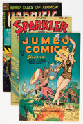 Golden Age (1938-1955):Miscellaneous, Comic Books - Assorted Golden Age Comics Group (Various Publishers, 1940s-'50s).... (Total: 9 Comic Books)
