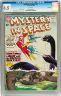 Silver Age (1956-1969):Science Fiction, Mystery in Space #62 Twin Cities pedigree (DC, 1960) CGC FN+ 6.5 White pages....