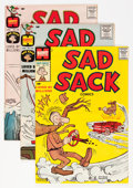 Silver Age (1956-1969):Humor, Sad Sack Comics File Copy Short Box Group (Harvey, 1960-69) Condition: Average NM-....