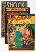 Golden Age (1938-1955):Miscellaneous, Miscellaneous Golden/Silver Age Comics Short Box Group (Various Publishers, 1950s-60s) Condition: Average FR....