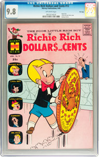 Richie Rich Dollars and Cents #12 File Copy (Harvey, 1966) CGC NM/MT 9.8 Off-white pages