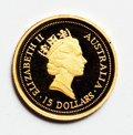 Australia, Australia: Elizabeth II Four-piece 10th Anniversary Nugget Set 1996including:... (Total: 4 coins)
