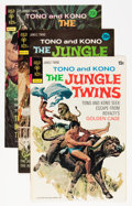 Bronze Age (1970-1979):Miscellaneous, The Jungle Twins File Copies Group (Gold Key/Whitman, 1972-75)Condition: Average VF+.... (Total: 7 Comic Books)