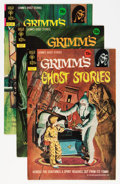 Bronze Age (1970-1979):Horror, Grimm's Ghost Stories File Copies Group (Gold Key, 1972-82)Condition: Average VF+.... (Total: 17 Comic Books)