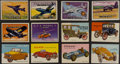 "Non-Sport Cards:Sets, 1950's Topps ""Wings"" & ""World on Wheels"" Collection (200). ..."