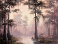 Texas:Early Texas Art - Regionalists, DALHART WINDBERG (American, b. 1933). Bayou Scene, 1980. Oilon canvas. 16 x 12 inches (40.6 x 30.5 cm). Signed and date...