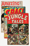 Golden Age (1938-1955):Miscellaneous, Atlas Comics Group (Atlas, 1950s).... (Total: 5 Comic Books)