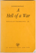 Books:Biography & Memoir, Douglas Fairbanks, Jr. Signed Photo and Two Editions of A Hell of a War, including: First edition, first printing. 2... (Total: 2 Items)