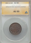 Argentina, Argentina: Buenos Aires Copper Date Collection,... (Total: 4 coins)
