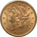 Liberty Double Eagles: , 1890-S $20 MS62 PCGS. PCGS Population (471/173). NGC Census:(365/84). Mintage: 802,750. Numismedia Wsl. Price for problem ...