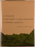 Books:Books about Books, Colton Storm, compiler. A Catalogue of The Everett D. Graff Collection of Western Americana. Chicago: The Newbery Li...