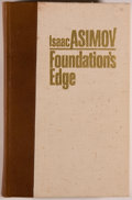 Books:Science Fiction & Fantasy, Isaac Asimov. SIGNED LIMITED EDITION. Foundation's Edge. Binghamton: Whispers Press, 1982. Special first editi...