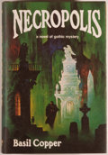Books:Science Fiction & Fantasy, Basil Copper. Necropolis. Sauk City: Arkham House, 1980. First edition. Octavo. 352 pages. Illustrated by Stephe...