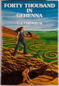 Books:Science Fiction & Fantasy, C. J. Cherryh. SIGNED LIMITED EDITION. Forty Thousand in Gehenna. Huntington Woods: Phantasia Press, 1983. Spe...