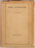 Books:Children's Books, A. E. Coppard. SIGNED LIMITED EDITION. Pink Furniture. A Talefor Lovely Children With Noble Natures. London: Jo...