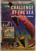 Books:Natural History Books & Prints, [Jerry Weist]. Arthur C. Clarke. The Challenge of the Sea. New York: Holt, Rinehart and Winston, 1960. Holt libr...