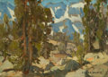 Paintings, EDGAR ALWIN PAYNE (American, 1883-1947). Big Pine Canyon, High Sierra. Oil on board. 10 x 14 inches (25.4 x 35.6 cm). Si...