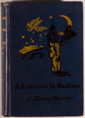 Books:Science Fiction & Fantasy, [Jerry Weist]. J. Henry Harris. A Romance in Radium. London: Greening & Co., Ltd., 1906. First edition, first is...