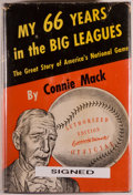 Books:Biography & Memoir, Connie Mack. SIGNED. My 66 Years in the Big Leagues. The GreatStory of America's National Game. Philadelphia: J...