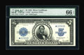 Large Size:Silver Certificates, Fr. 282 $5 1923 Silver Certificate Star Note PMG Gem Uncirculated66 EPQ....