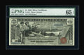 Large Size:Silver Certificates, Fr. 224 $1 1896 Silver Certificate PMG Gem Uncirculated 65 EPQ....