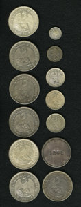 Chile, Chile: Republic Type & Date Collection,... (Total: 13 coins)