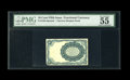 Fractional Currency:Fifth Issue, Milton 5E10R.2 10c Fifth Issue PMG About Uncirculated 55....