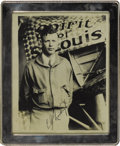 "Autographs:Celebrities, Beautiful Charles Lindbergh Signed Photograph in Gorgeous SilverFrame ""C. A. Lindbergh"". This amazing vintage matte-fin...(Total: 1 Item)"