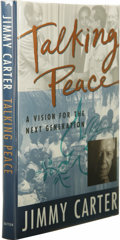 Books:Signed Editions, Jimmy Carter: Signed First Edition of Talking Peace: A Visionfor the Next Generation. (New York: Dutton Children's Book...(Total: 1 Item)