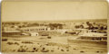 Photography:Cabinet Photos, VIEW OF EL PASO, TEXAS - CABINET CARD BY F. PARKER - ca.1882-90.This is a nice view of El Paso, Texas by Francis F. Parker ...(Total: 1 Item)