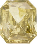 Estate Jewelry:Unmounted Diamonds, Unmounted Fancy Brown-Greenish Yellow Diamond. ...