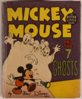 Books:Children's Books, [Big Little Book]. Walt Disney. Mickey Mouse and the 7Ghosts. Racine: Whitman, [1940]. Square sixteenmo. 424 pa...