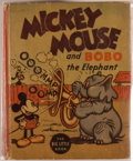 Books:Children's Books, [Big Little Book]. Walt Disney. Mickey Mouse and Bobo theElephant. Racine: Whitman, [1935]. Square sixteenmo. 4...