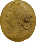 Estate Jewelry:Cameos, Unmounted Lava Cameo. ...