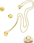 Estate Jewelry:Suites, Gold, Sterling Silver Jewelry Suite, Elsa Peretti for Tiffany &Co.. ...