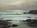 Fine Art - Painting, American, ROBERT WILLIAM WOOD (American, 1889-1979). Silver Waves. Oilon canvas. 12 x 16 inches (30.5 x 40.6 cm). Signed lower ri...