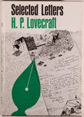 Books:Science Fiction & Fantasy, H. P. Lovecraft. Selected Letters 1929-1931. Sauk City: Arkham House Publishers, Inc., 1971. First edition of 25...