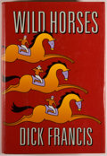 Books:Mystery & Detective Fiction, Dick Francis. SIGNED. Wild Horses. New York: Putnam, [1994].First edition, first printing. Signed by Francis....