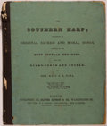 Books:Music & Sheet Music, Mary S. B. Dana. The Southern Harp; Consisting of Original Sacred and Moral Songs, Adapted to the Most Popular Melodies,...