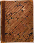 Books:Periodicals, Group of Three Bound Volumes of 19th Century Periodicals,including: The Parlor Journal. January 11 - Nov. 1, 1834i... (Total: 3 Items)