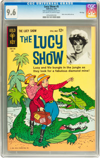The Lucy Show #5 File Copy (Gold Key, 1964) CGC NM+ 9.6 Off-white to white pages