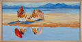 Music Memorabilia:Original Art, Stanley Mouse Reflections Painting Original Art (1987).. ...