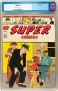 Golden Age (1938-1955):Cartoon Character, Super Comics #72 File Copy (Dell, 1944) CGC NM 9.4 Cream to off-white pages....