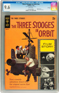 Silver Age (1956-1969):Humor, Movie Comics: Three Stooges in Orbit #nn (Gold Key, 1962) CGC NM+ 9.6 White pages....