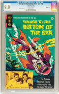 Silver Age (1956-1969):Adventure, Voyage to the Bottom of the Sea #14 Double Cover (Gold Key, 1968) CGC NM/MT 9.8 Off-white pages....